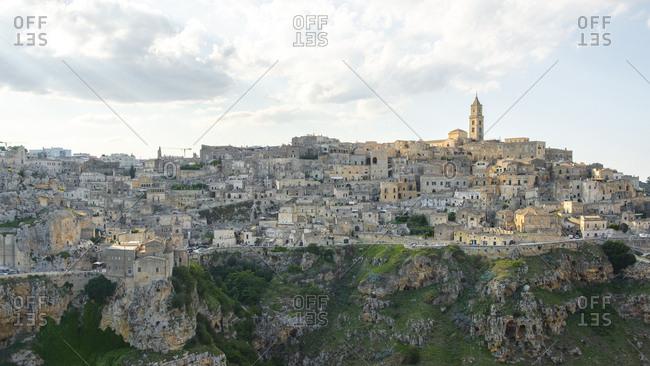 View of Matera, Basilicata, Italy