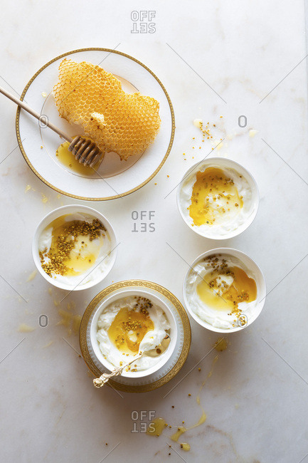 Yogurt and honey