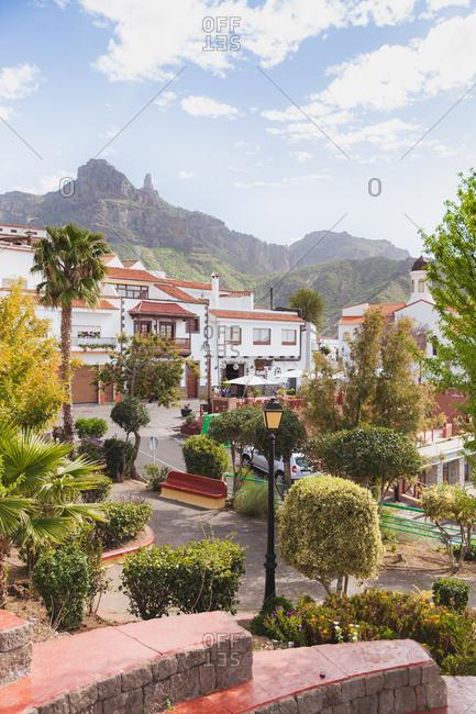 Gran Canaria, Spain - March 7, 2017: Scene from the island of Gran Canaria