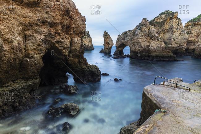 Ponta da Piedade, dawn, Lagos, Algarve, Portugal