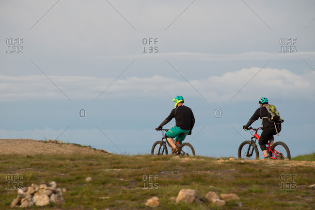 August 30, 2017: Mountain bikers, Lapland