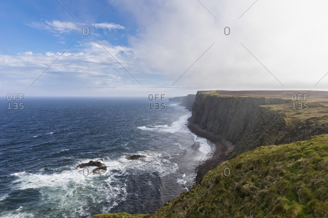UK- Scotland- Caithness- Coast of Duncansby Head