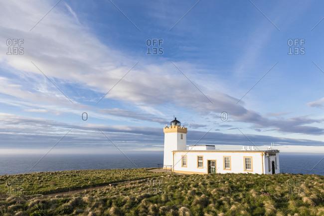 UK- Scotland- Caithness- Duncansby Head- Duncansby Head Lighthouse