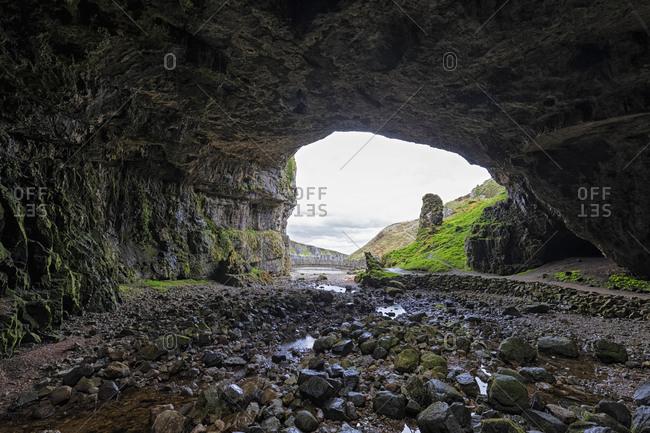 UK- Scotland- Durness- Smoo Cave