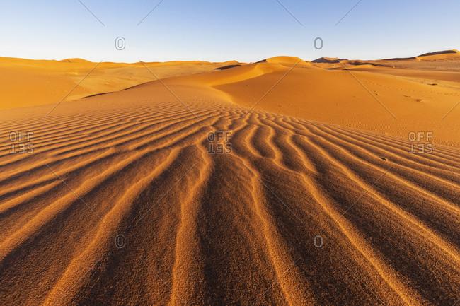 Africa- Namibia- Namib desert- Naukluft National Park- sand dunes