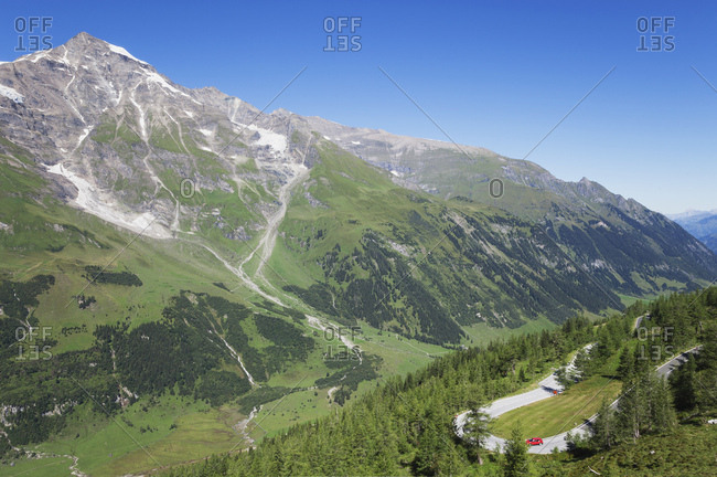 Austria- Grossglockner High Alpine Road- Fuscher Valley