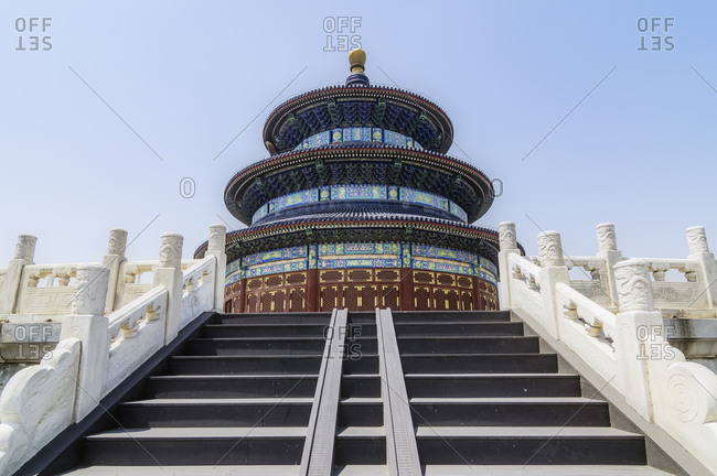 China- Beijing- view to Temple of Heaven