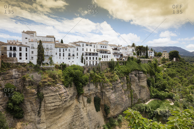 June 10, 2018: Spain- Malaga- Ronda with Tajo de Ronda