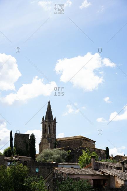 Church exterior in Spain