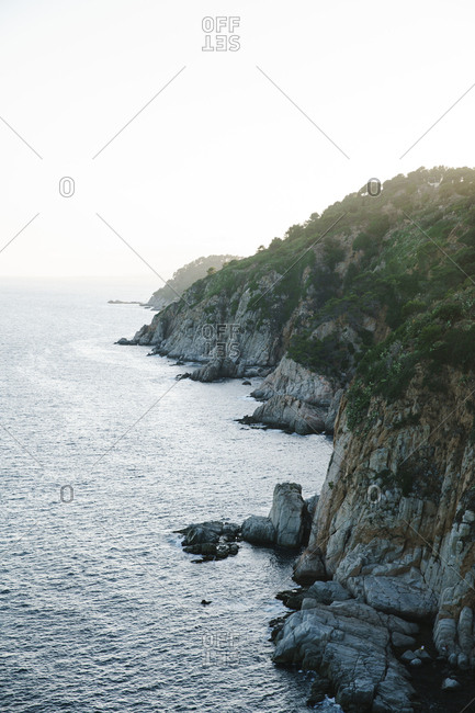 Rocky coast of Spain