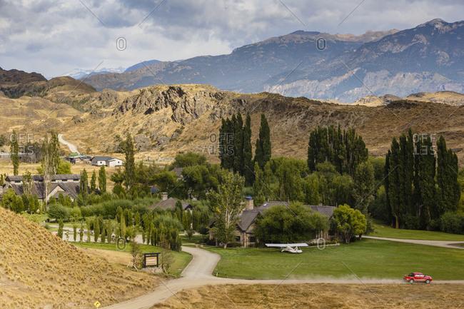 Patagonia, Aysen Region, Chile - February 17, 2016: Parque Patagonia, Aysen Region, Chile