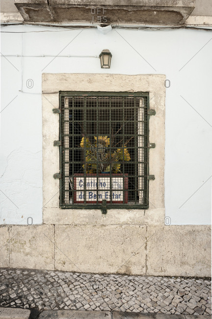 May 31, 2014: Streetscene in the Bairro Alto ( Upper District ) in Lisbon, Portugal.