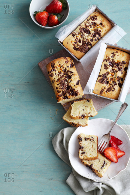 Chocolate orange pound cakes - Offset