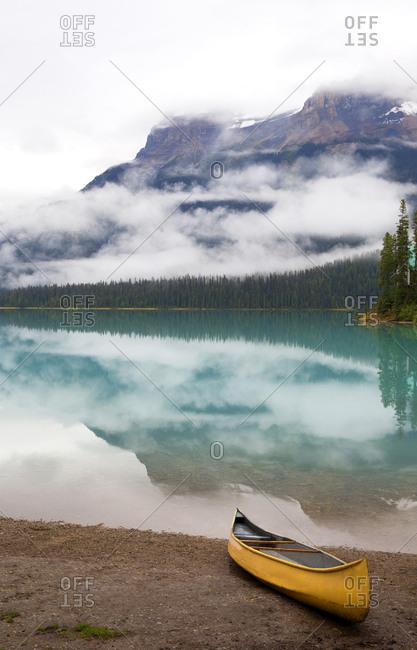 Emerald lake, Field Town, British Columbia, Canada