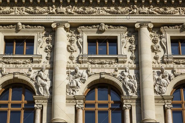The Natural History Museum (Naturhistorische Museum), Vienna, Austria.