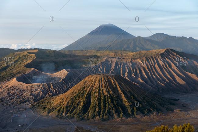 Mount Bromo at sunrise in Java, Indonesia