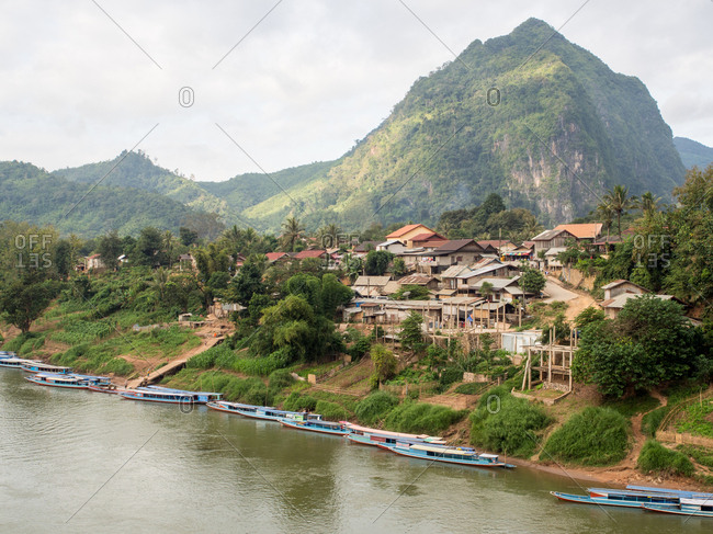 Nong Khiaw, Laos, Indochina, Southeast Asia, Asia