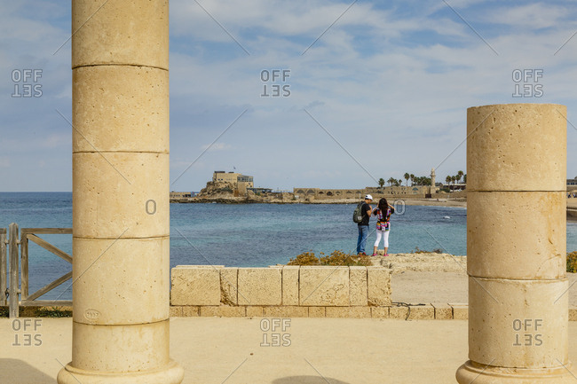 Caesarea, Israel.