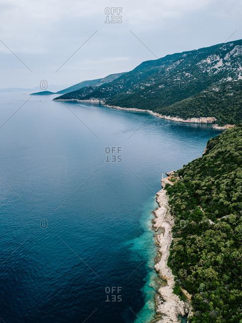 Croatia- Cres- Adriatic Sea