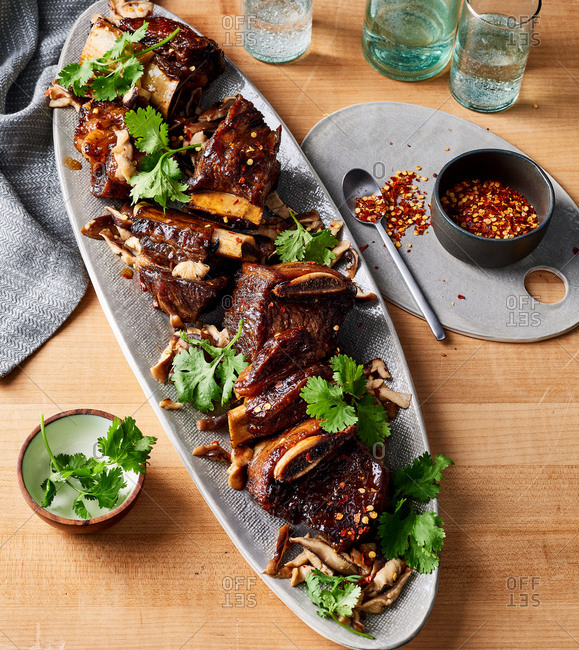 Asian short ribs - Offset Collection