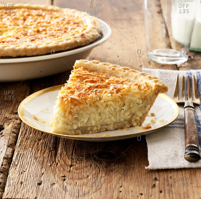 Coconut pie from the Offset Collection