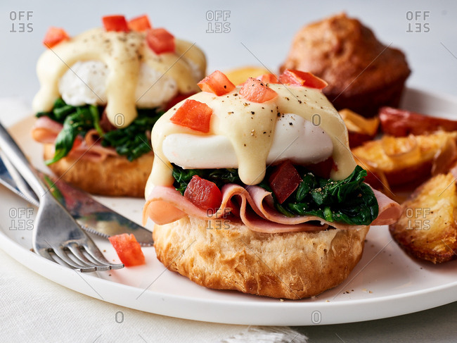 Eggs Benedict from the Offset Collection