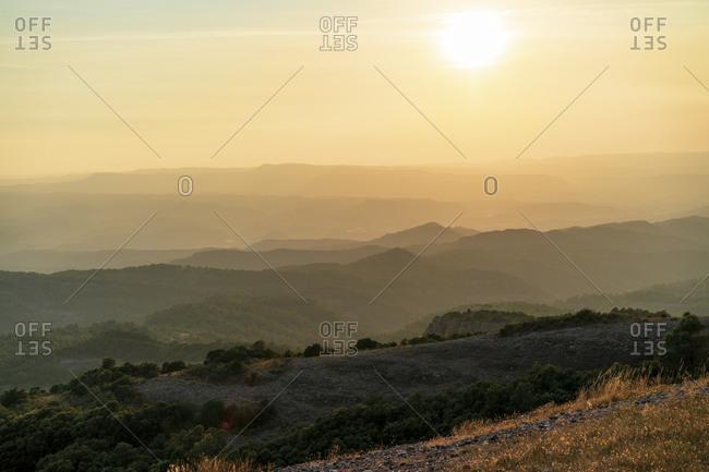 Spain, Catalonia, Sant Llorenc del Munt i l'Obac,