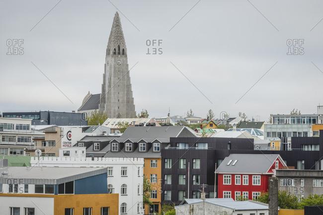 Iceland, Reykjavik - May 31, 2018: Hallgrimskirkja Church