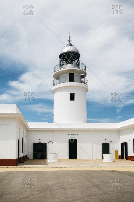 Cape Cavalleria Lighthouse in Menorca, Spain