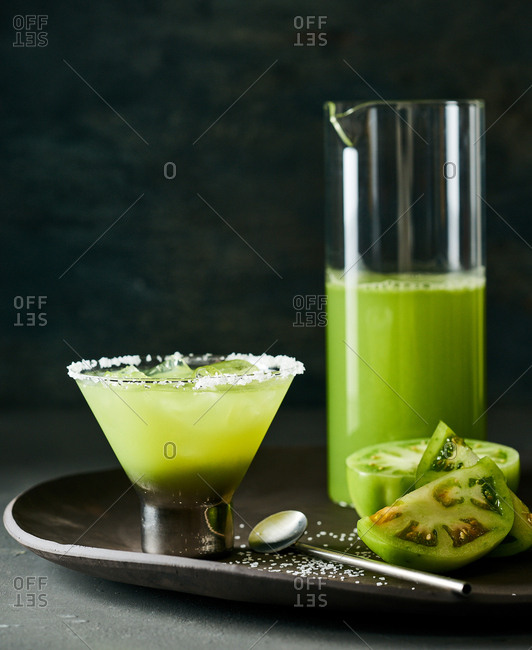 Green Tomatoes Margarita - Offset Collection