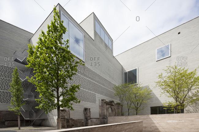 Ehrenfeld, Cologne, Germany - October 15, 2018: Kolumba Art Museum