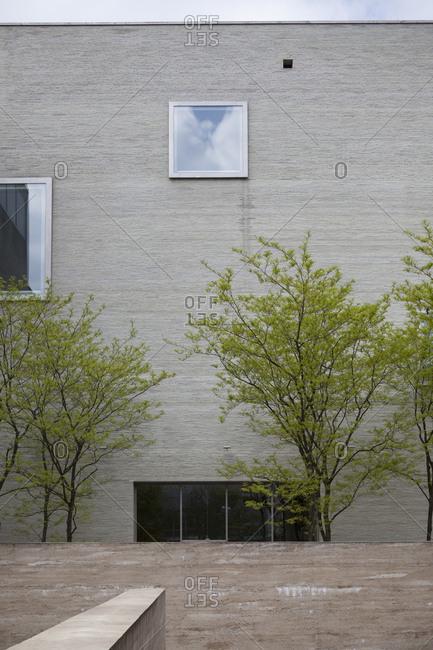 Kolumba art museum exterior in Cologne, Germany