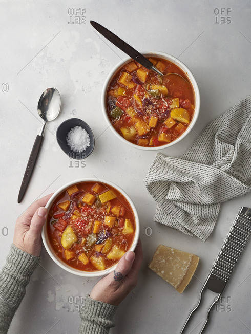 Winter warmer soup