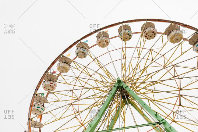 Ferris wheel at a county fair