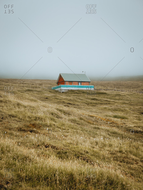 Small house at country side