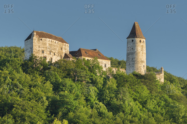 Castle Seebenstein, industrial district, Lower Austria, Austria