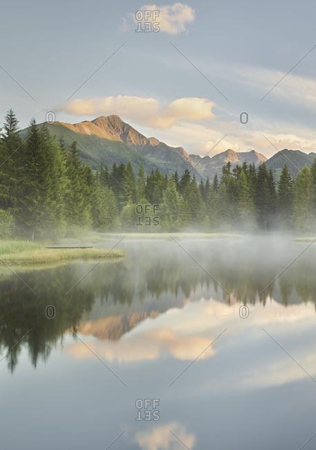 Schattensee (lake), Krakauschatten (village), Schladminger Tauern, Styria, Austria