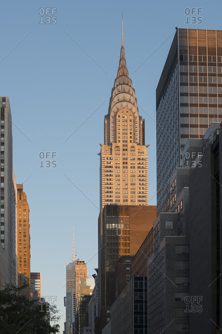 May 24, 2017: Chrysler Building of the 42Nd Street, Manhattan, New York city, New York, the USA