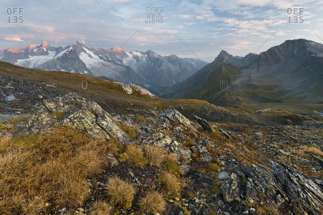 Col de Fenetre, Mont Dolent, Valais, Switzerland