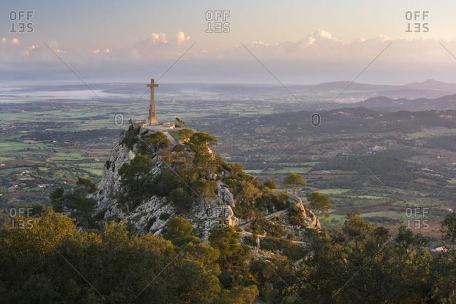 Creu De Sant Salvador, Majorca, the Balearic Islands, Spain
