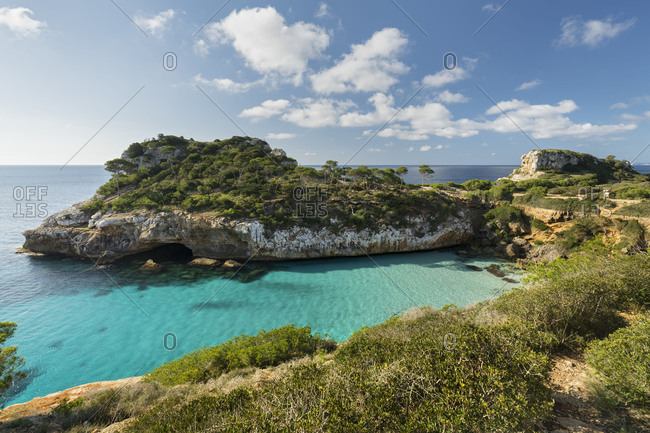 Cal� of Moro, Llombards, Majorca, the Balearic Islands, Spain