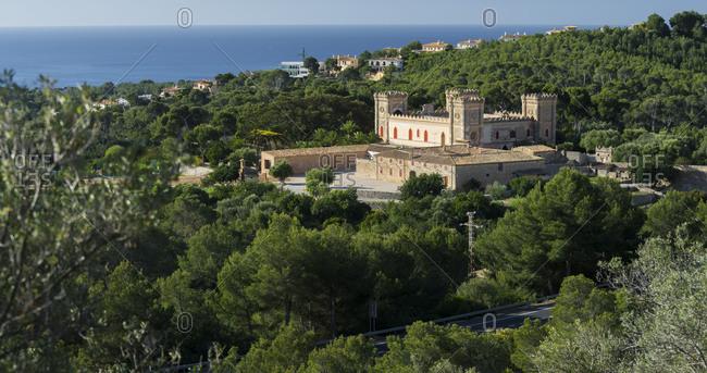 Castillo de Bendinant, Majorca, the Balearic Islands, Spain