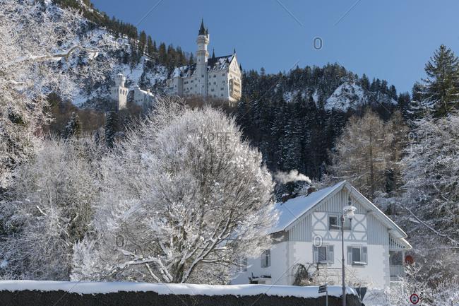 Castle Neuschwanstein, Schwangau, Allgau, Bavarians, Germany