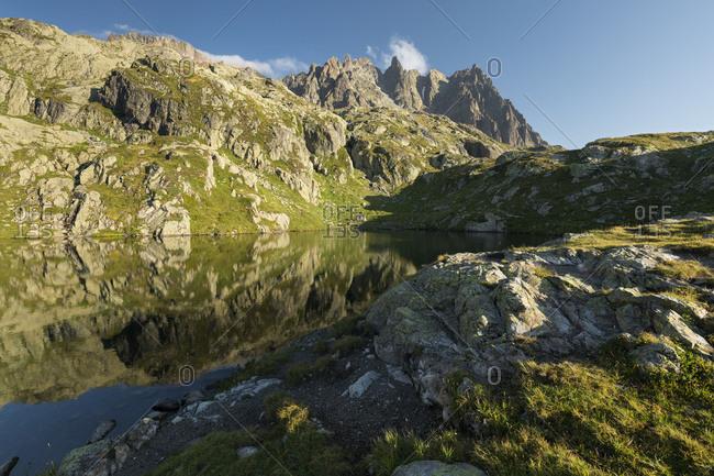 Aguilles blusher, Haute-Savoie, France