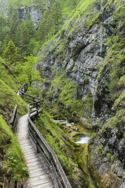 Wasserlochklamm (gorge), Salzatal, Styria, Austria