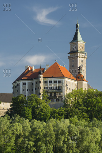 Castle Wallsee, the Danube, Mostviertel (Must Quarter), Lower Austria, Austria