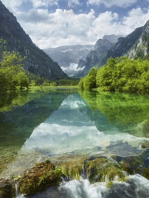 Brunnsee, Hochschwab, Salzatal, Styria, Austria