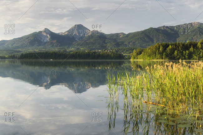 Faaker lake, Mittagskogel, Carinthia, Austria