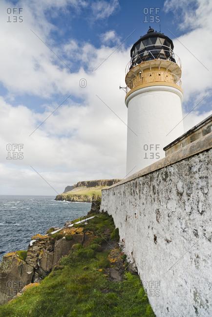 UK- Scotland- Isle of Skye- lighthouse at Neist Point
