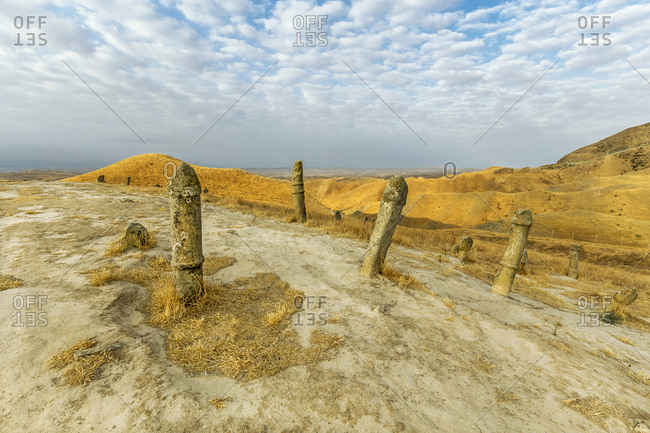 Iran- Golestan Province- Gonbad-e Kavous- Khalid Nabi cemetery